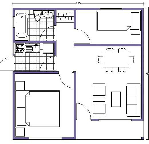 20 planos de casas chicas planos y fachadas todo para for Planos de cocinas gratis