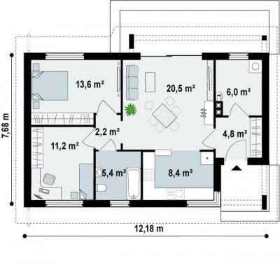 Planos de casas chicas (23)
