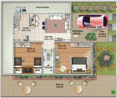 Planos de casas chicas (3)