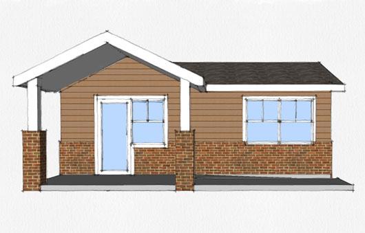 20 planos de casas chicas planos y fachadas todo para el for Modelos de casas pequenas y bonitas
