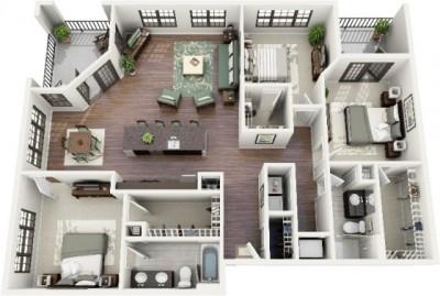 Plano-de-departamento-de-3-habitacione
