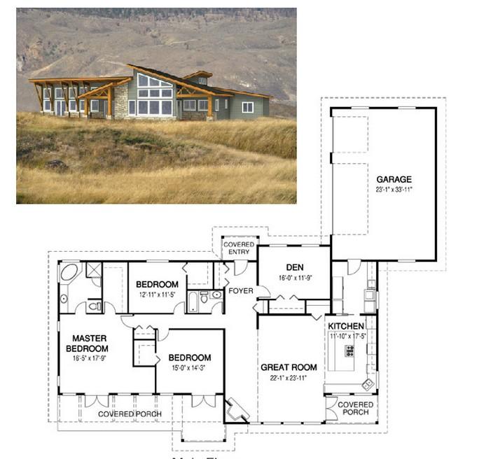 Planos de casas de campo planos y fachadas todo para for Viviendas de campo modernas
