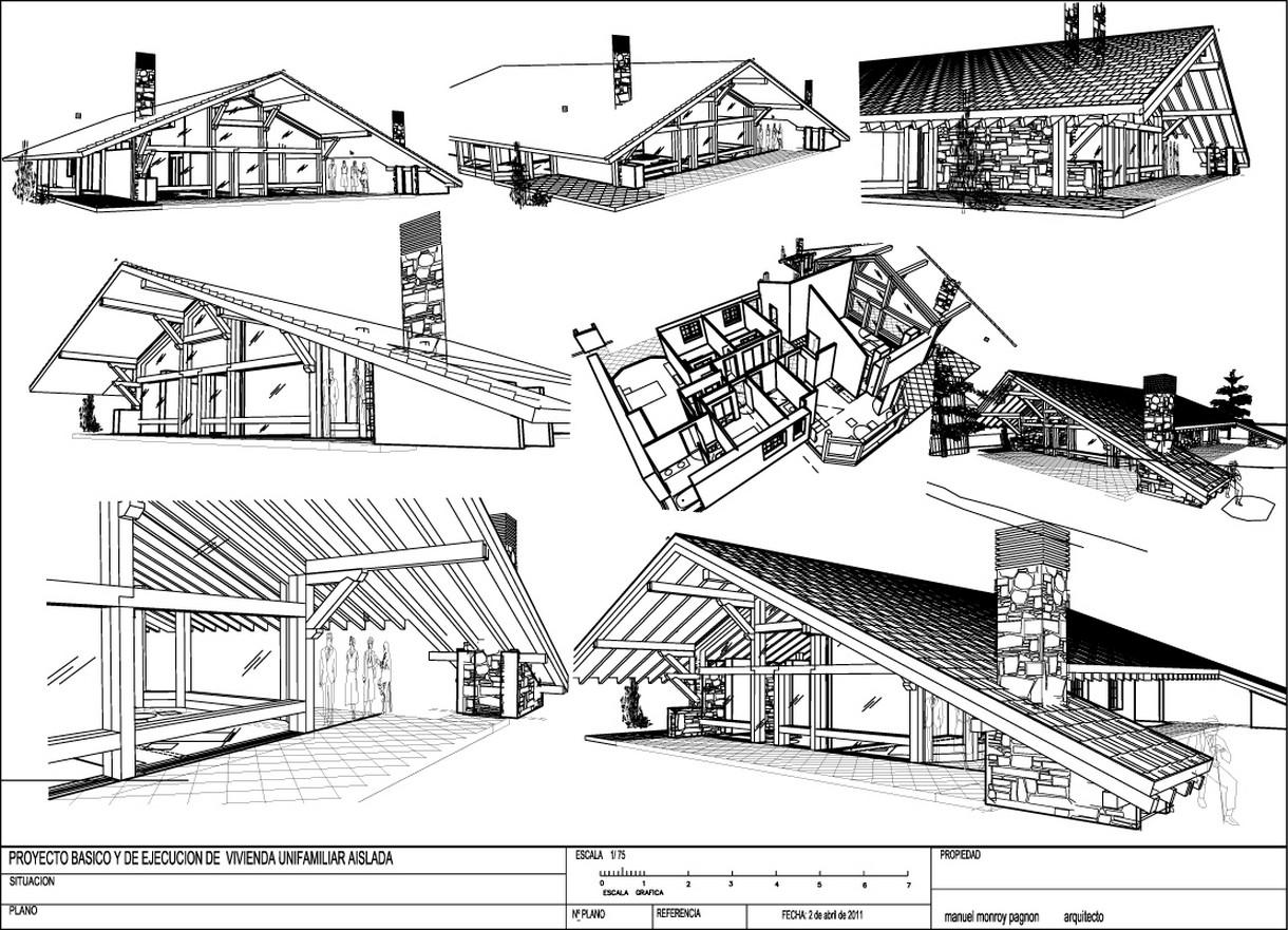 Planos de casas de campo planos y fachadas todo para el for Casas con planos y fotos