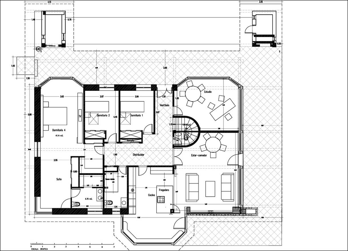 Planos de casas de campo planos y fachadas todo para for Planos de casas rurales