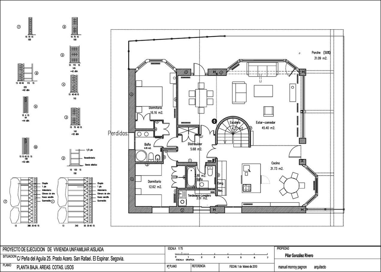 Planos de casas de campo planos y fachadas todo para for Planos de casas 200m2