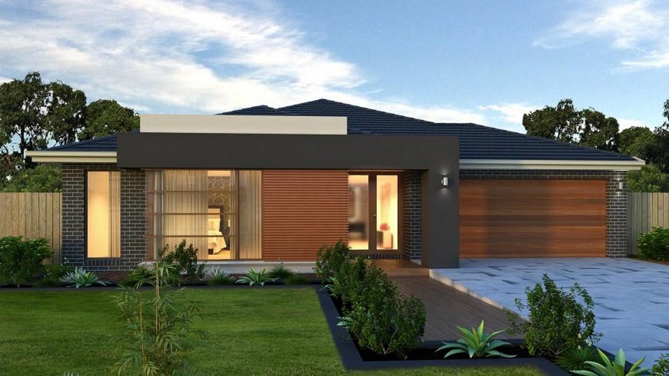 Fachadas de casas modernas de un piso planos y fachadas for Ingreso casas modernas