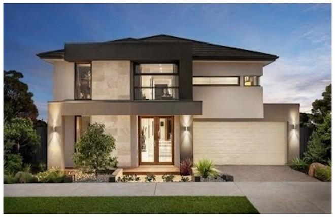 Fachadas de casas modernas de un piso planos y fachadas for Fachadas de casas de 2 pisos pequenas
