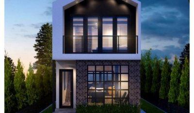 fachadas de casas modernas de un piso25