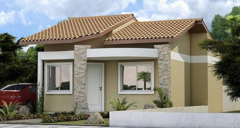 Fachadas de casas modernas de un piso planos y fachadas for Fachadas casas pequenas de un piso