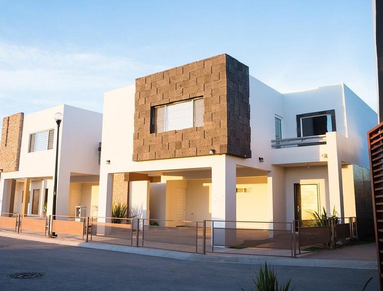 Im genes y fotograf as de fachadas con cantera planos y for Fachadas de casas modernas con piedra