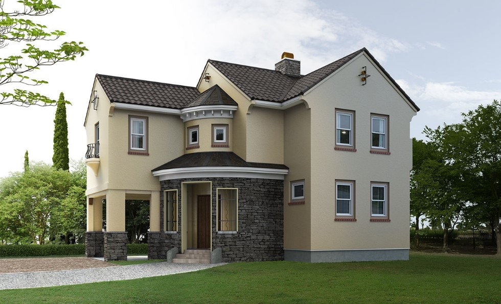 Colores para fachadas de casas planos y fachadas todo - Color de fachadas de casas ...