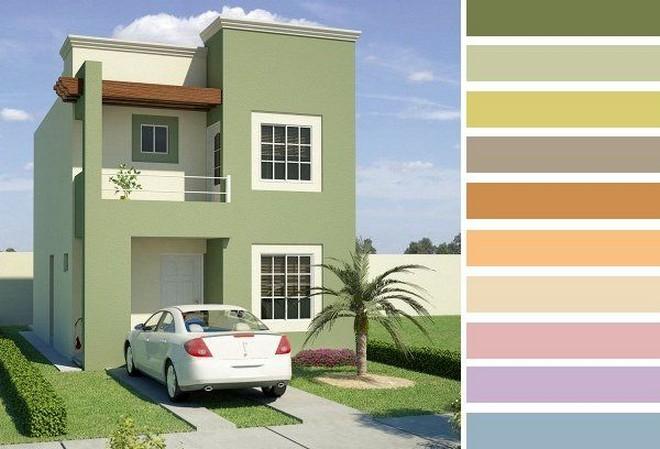 Colores para fachadas de casas planos y fachadas todo for Colores para tu casa