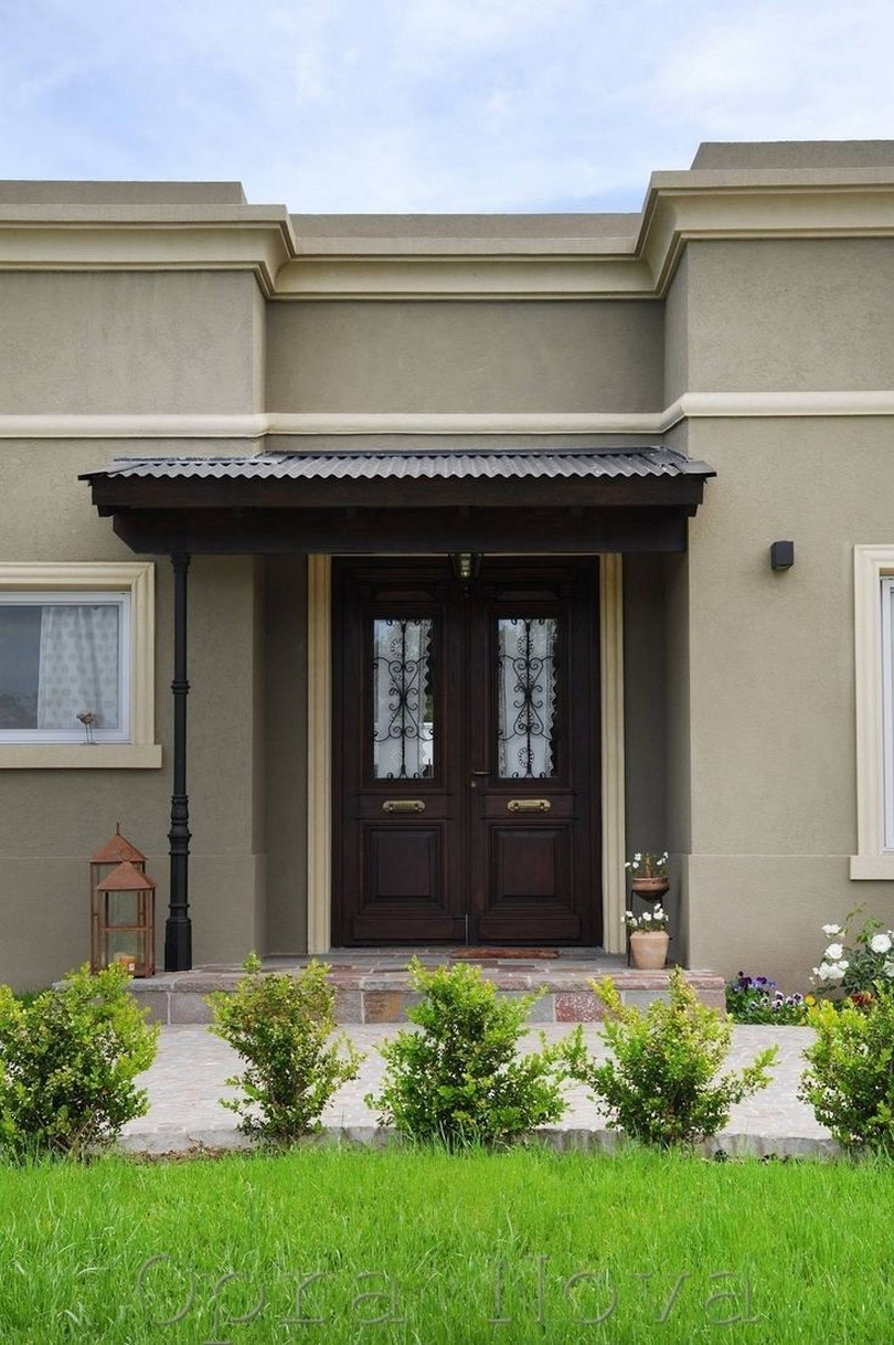 Colores para fachadas de casas planos y fachadas todo for Doble puerta entrada casa