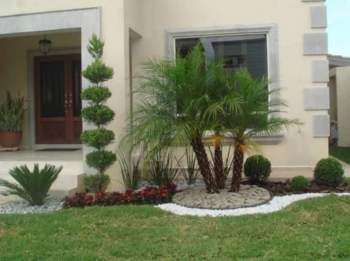 Im genes y fotograf as de fachadas con cantera planos y for Ideas para decorar el jardin de mi casa