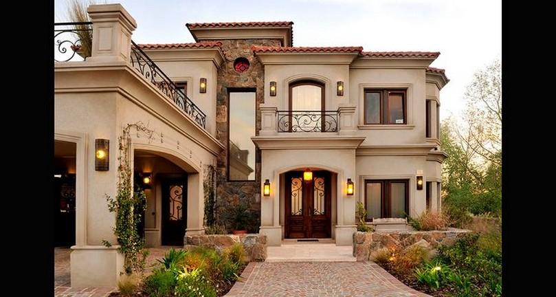 Im genes y fotograf as de fachadas con cantera planos y fachadas todo para el dise o de tu - Casas clasicas modernas ...