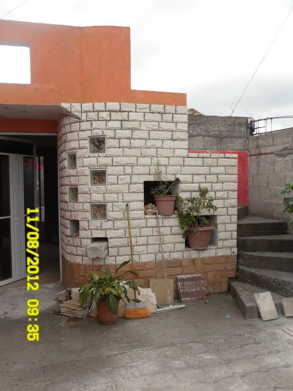 Im genes y fotograf as de fachadas con cantera planos y - Piedras para fachada ...