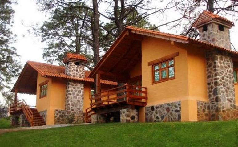 Fachadas de casas de campo planos y fachadas todo para for Casa moderna en el campo