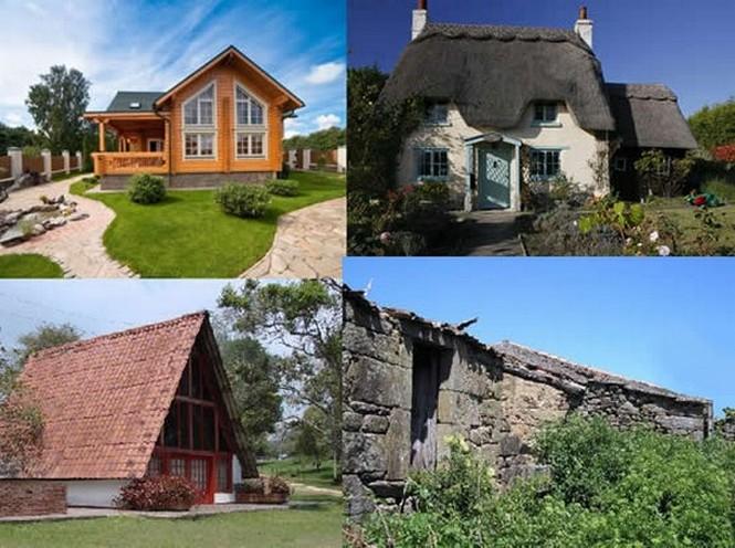 Fachadas de casas de campo planos y fachadas todo para - Decoracion de casa de campo ...