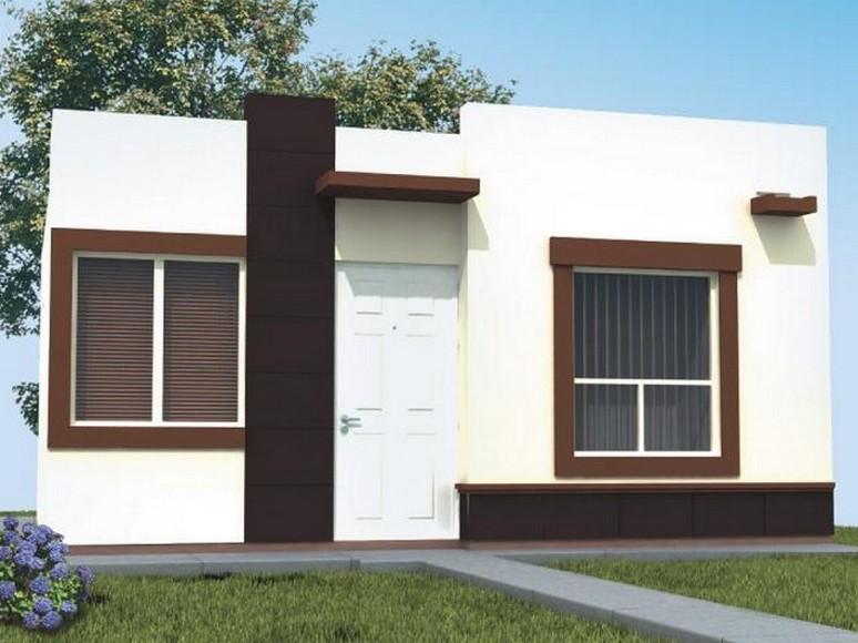 35 fachadas de casas de una planta modernas y vistosas for Fachadas exteriores de casas de dos plantas