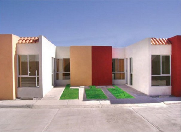 35 fachadas de casas de una planta modernas y vistosas - Fachadas de casas de una planta ...