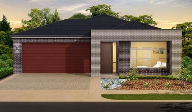 35 fachadas de casas de una planta modernas y vistosas for Fachadas de casas para segunda planta