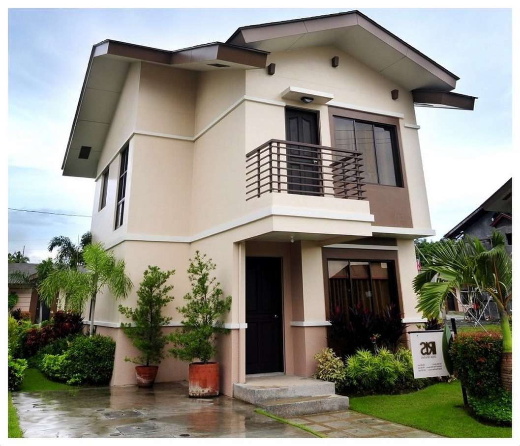 Fachadas de casas modernas de dos pisos planos y fachadas for Fachadas modernas para casas pequenas de una planta