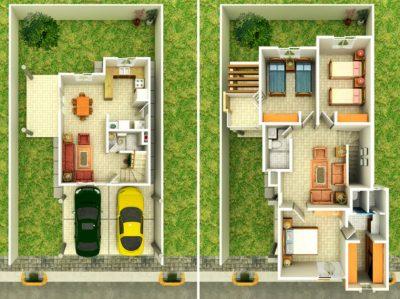gi-plano-3d-casa-moderna-dos-plantas