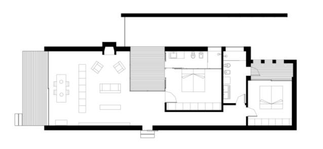 Planos de casas minimalistas una planta dos plantas for Casas modernas de una planta minimalistas