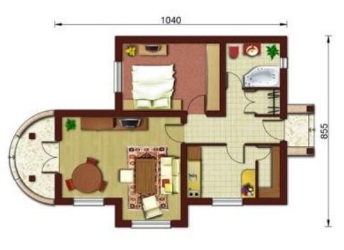 Planos de casas peque as de un piso planos y fachadas for Ver planos de casas pequenas