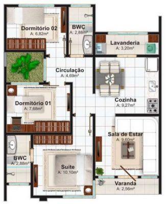planos-de-casas-de-un-piso-3-dormitorios-21