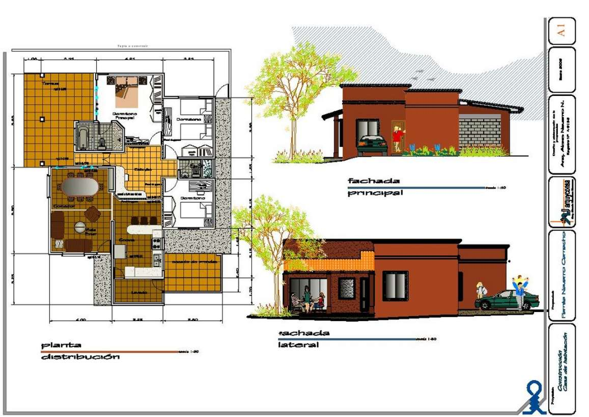 Planos de casas gratis para descargar gran variedad for Modelos planos de casas para construir