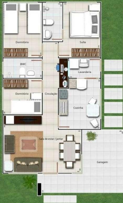 Planos de casas minimalistas una planta dos plantas for Planos de casas minimalistas grandes