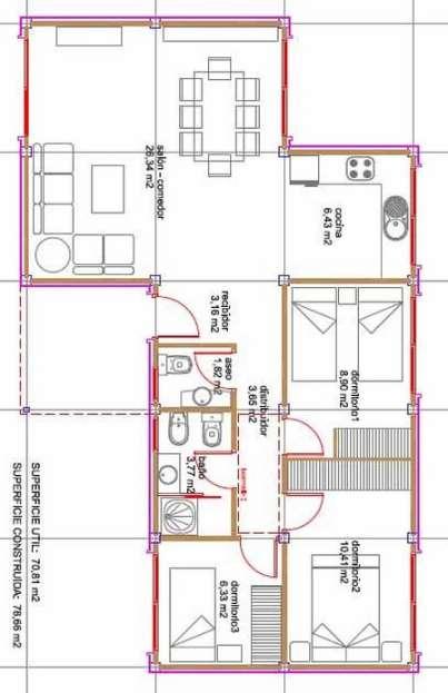 Planos de casas modernas de dos plantas planos y for Viviendas modernas de una planta