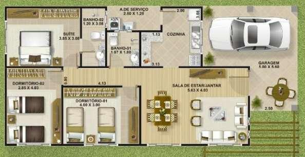 Planos de casas modernas de dos plantas Planos y Fachadas Todo