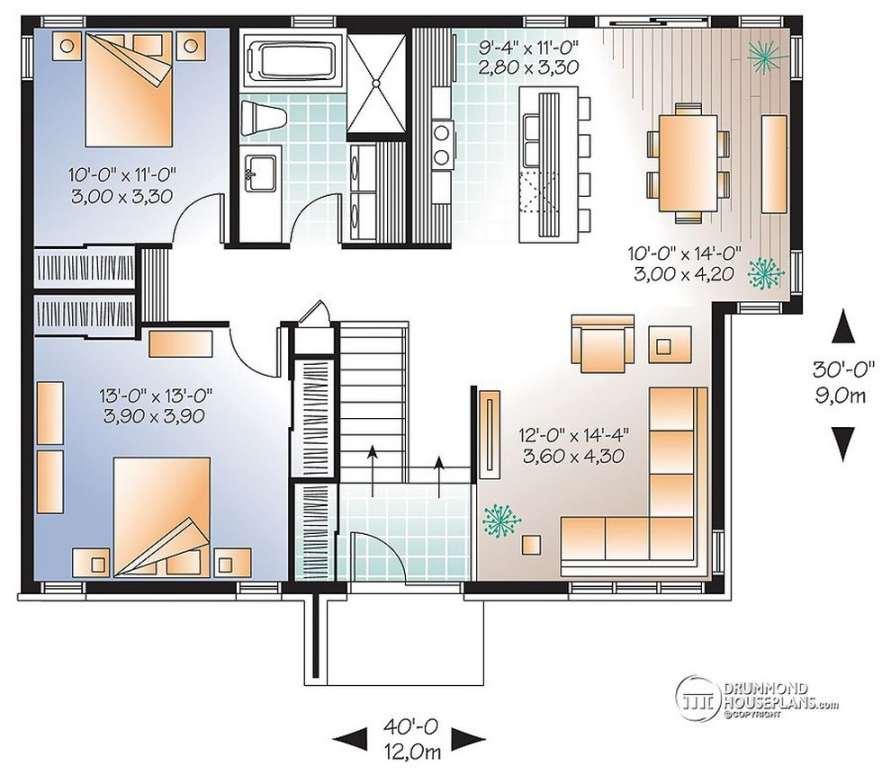 Planos de casas modernas de dos plantas planos y fachadas for Planos de casa minimalista una planta