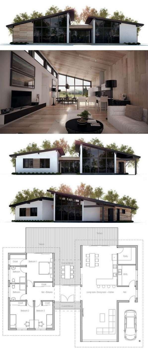 Planos De Casas Peque As De Dos Plantas Planos Y Fachadas Todo Para El Dise O De Tu Casa