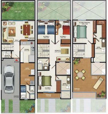 planos-de-casas-pequenas-de-un-piso-24
