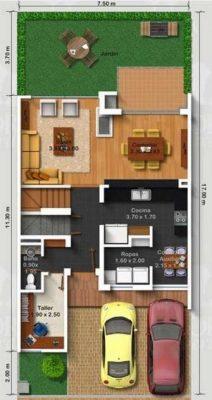 planos-de-casas-pequenas-de-un-piso-86