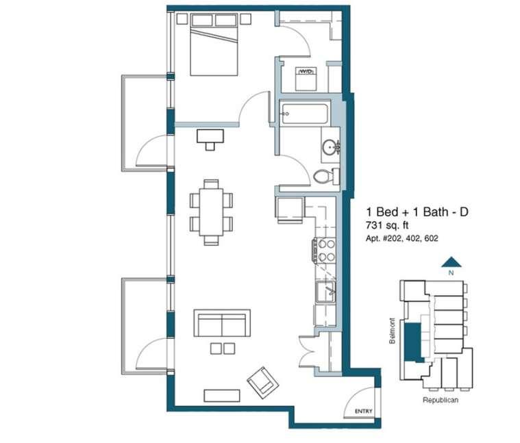 Planos de departamentos peque os planos y fachadas for Apartamentos de diseno pequenos