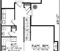 Plano de casa 8011 – El ingreso al estacionamiento traser…