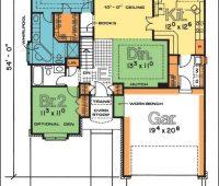 Plano de casa 3330 – Esta casa clásico da muchas propieda…