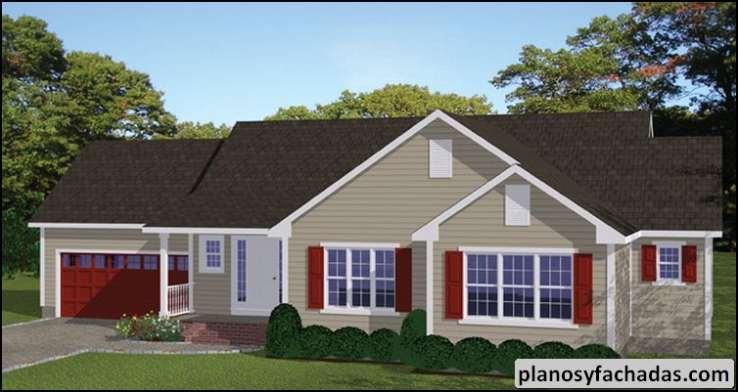 Plano de casa 2974 m ltiples frontales y traseros porch for Fachadas frontales de casas