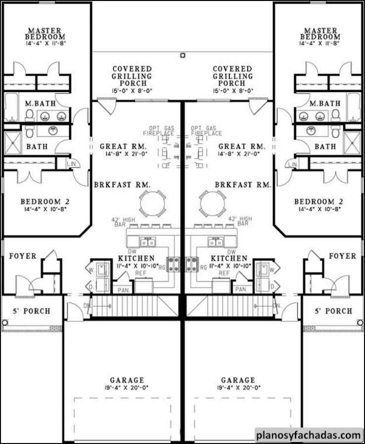 Plano De Casa 9831 Se Ha Creado Un Hermoso D Plex De Di