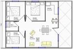 19 Planos de casas 3 dormitorios