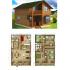 18 Planos de casas de madera